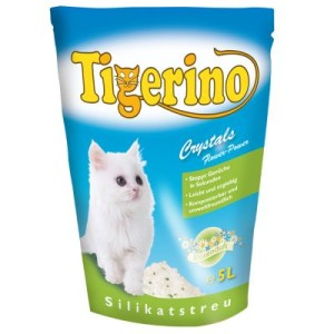 Tigerino Crystals Flower-Power Katzenstreu - 3 x 5 l