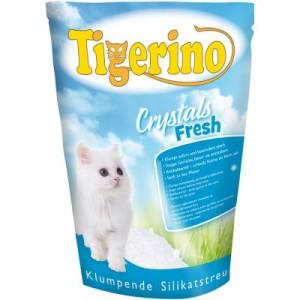 Tigerino Crystals Fresh - klumpende Katzenstreu - 3 x 5 l
