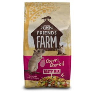 Tiny Friends Farm Gerri Gerbil Tasty Mix - 2 x 850 g