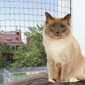 Trixie Katzenschutznetz mit Drahtverstärkung - 2 x 1