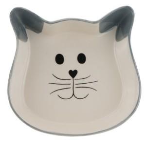 Trixie Keramiknapf Katzengesicht - 250 ml