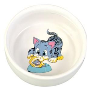 Trixie Keramiknapf mit Motiv - 300 ml