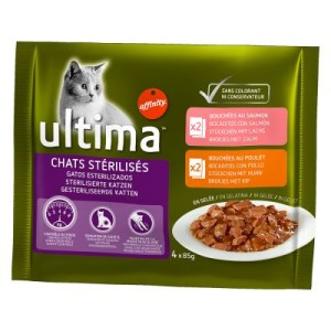 Ultima Cat Sterilized - 4 x 85 g