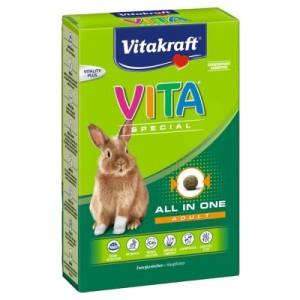 VITA Special Adult Zwergkaninchen - 3 x 600 g