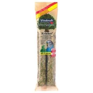 Vita Nature Kräcker - 2 x 2 Sticks Grassamen und Spinat