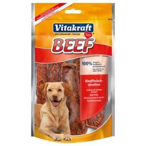 Vitakraft BEEF Rindfleischstreifen - Sparpaket: 3 x 80 g