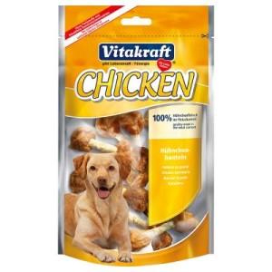 Vitakraft CHICKEN Hühnchenhanteln - Sparpaket: 6 x 80 g