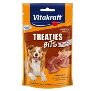Vitakraft Treaties Bits Leberwurst - Sparpaket: 2 x 120 g