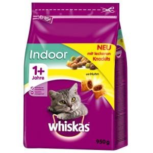 Whiskas 1+ Indoor Huhn - Sparpaket: 2 x 950 g