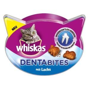 Whiskas Dentabites - 5er Pack Lachs (5 x 40 g)