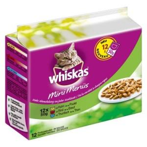 Whiskas Mini Menüs im Frischebeutel 12 x 50 g - Huhn