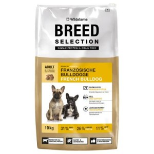 Wildsterne Breed Selection French Bulldog - Sparpaket: 2 x 10 kg