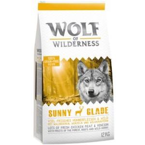"Wolf of Wilderness ""Sunny Glade"" - Wild - Doppelpack 2 x 12 kg"