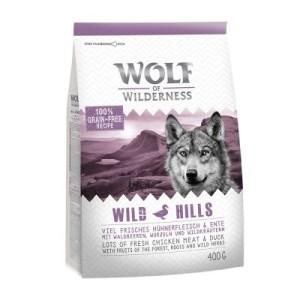 """Wolf of Wilderness """"Wild Hills"""" - Ente zum Probierpreis - 400 g"""
