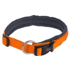 Wolters Halsband Professional Comfort mango/schiefer - Gr. 7: 55 - 60 cm Halsumfang