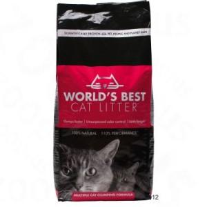 World's Best Cat Litter Extra Strength Katzenstreu - 12