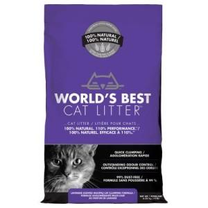 Worlds Best Cat Litter Lavender Scented Katzenstreu - 12