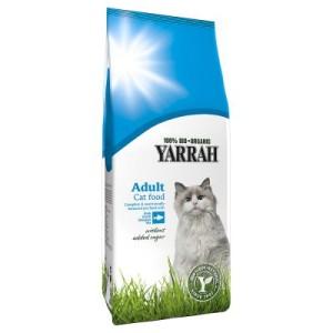 Yarrah Bio Katzenfutter mit Fisch - 10 kg