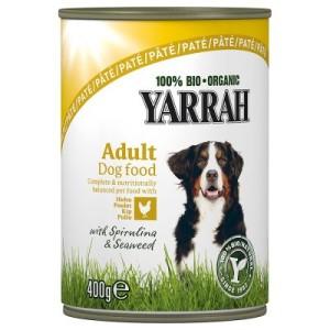 Yarrah Bio Paté Huhn mit Meeresalgen & Spirulina - 12 x 400 g