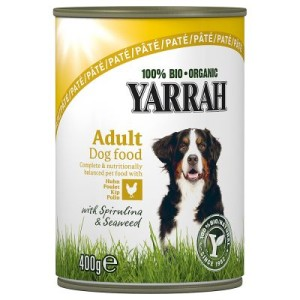 Yarrah Bio Paté Huhn mit Meeresalgen & Spirulina - 6 x 400 g