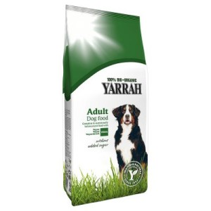 Yarrah Bio Vegetarisches/Veganes Hundefutter - 10 kg