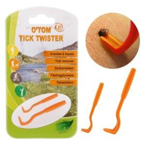 Zeckenhaken O'Tom Tick Twister - Dreierpack orange