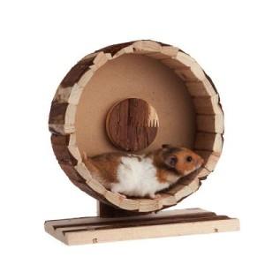 Zubehörset Basic für Hamster und Mäuse - 4-teilig (mit Laufrad Ø 20 cm)