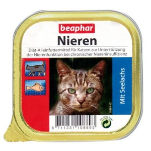 beaphar Nieren-Diät 6 x 100 g - Lamm