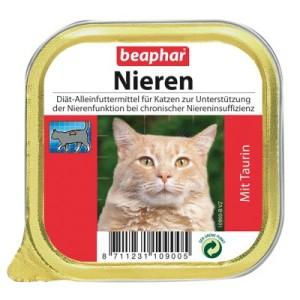 beaphar Nieren-Diät mit Taurin - 6 x 100 g
