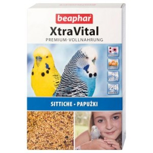 beaphar XtraVital Wellensittich - Doppelpack 2 x 1 kg