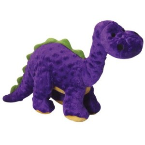 goDog Hundespielzeug Dinos Bruto lila - L 38 x B 10 x H 24 cm