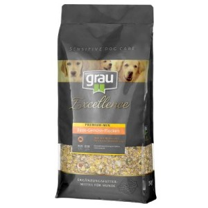 grau Excellence Premium Mix Basis-Gemüse-Flocken - Sparpaket: 2 x 5 kg