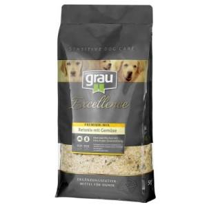 grau Excellence Premium Mix Reismix mit Gemüse - Sparpaket: 2 x 5 kg