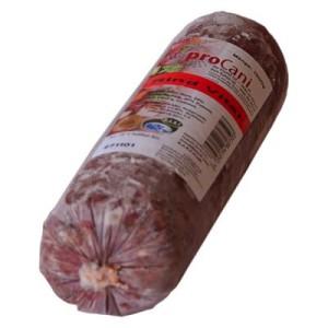 proCani BARF Rind Vital mit 30% Obst & Gemüse - 8 x 1000 g