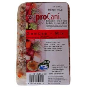proCani Gemüse- Mix gefroren - 16 x 400 g