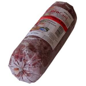 proCani Wildfleisch Pur - 8 x 1000 g
