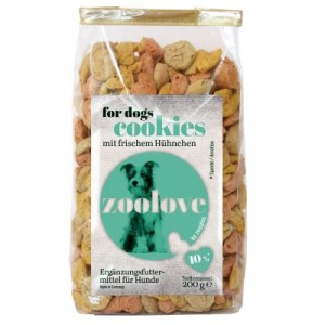 zoolove Hundekekse 200 g - zoolove Hundekekse Wild 200 g
