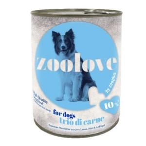 zoolove Trio di Carne - 6 x 800 g