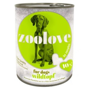 zoolove Wildtopf - 6 x 800 g