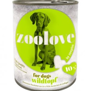 zoolove gemischtes Probierpaket - 6 x 800 g
